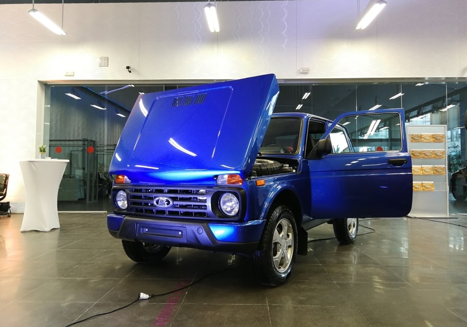 Автомобили LADA 4x4 начали продавать в Тунисе